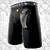 Shock Doctor - Compression Shorts Core with Bioflex Cup Tiefschutz / Schwarz