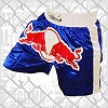 FIGHTERS - Shorts de Muay Thai / Red Bull / Bleu