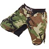 FIGHT-FIT - Fightshorts MMA Shorts / Warrior / Camouflage / Medium