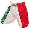 FIGHT-FIT - Muay Thai Shorts / Italien / Tri Colore