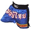 FIGHT-FIT - Muay Thai Shorts / Blue Kickboxing