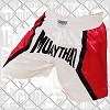FIGHTERS - Muay Thai Shorts / White-Red