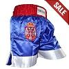 FIGHTERS - Pantalones Muay Thai / Serbia-Srbija / Zastava