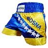 FIGHTERS - Short de Muay Thai / Bosnie-Bosna