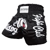 FIGHTERS - Muay Thai Shorts / Bulldog / Schwarz / Small