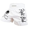 FIGHTERS - Muay Thai Shorts / Fight Club / Blanc