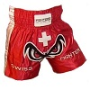 FIGHTERS - Muay Thai Shorts / Schweiz / No Fear / Small