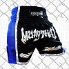 FIGHTERS - Thaibox Shorts / Elite Muay Thai / Schwarz-Blau / XXL