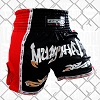 FIGHTERS - Thaibox Shorts / Elite Muay Thai / Schwarz-Rot / Medium