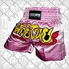 FIGHTERS - Shorts de Muay Thai / Rose