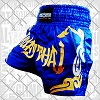 FIGHTERS - Muay Thai Shorts / Blau-Gold