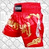 FIGHTERS - Muay Thai Shorts / Rot-Gold