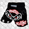 FIGHTERS - Muay Thai Shorts / No Fear / Black