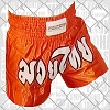 FIGHTERS - Muay Thai Shorts / Orange / Small