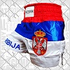 FIGHTERS - Muay Thai Shorts / Serbien-Srbija / Gbr