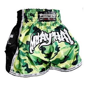 FIGHTERS - Muay Thai Shorts / Elite Camouflage / Large
