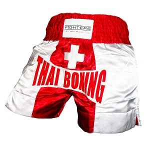 FIGHTERS - Pantalones Muay Thai / Suiza / XS